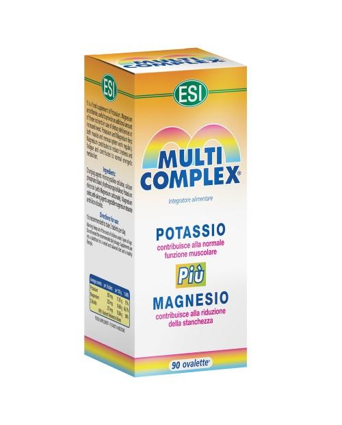 Esi Multicomplex Potassio più Magnesio 90 ovalette