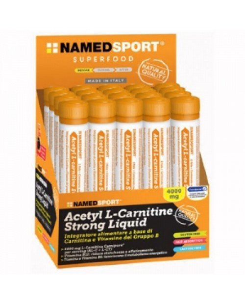 Named Sport  Acetyl L-Carnitine Strong Liquid 1 fiala da 25ml