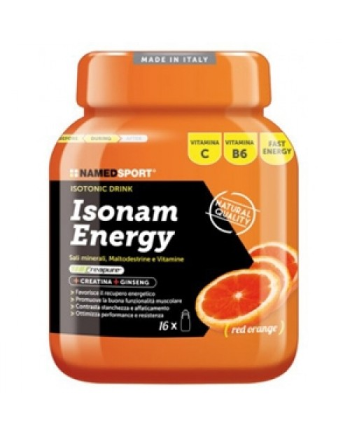 Named Sport  IsoNam Energy 480 grammi