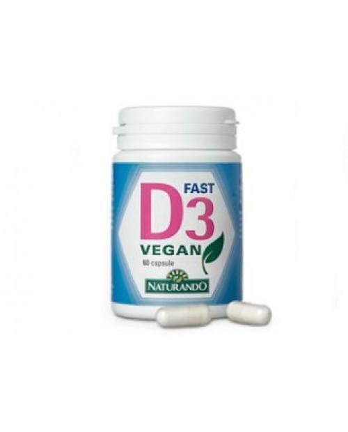 Naturando D3 Fast Vegan 60 Capsule