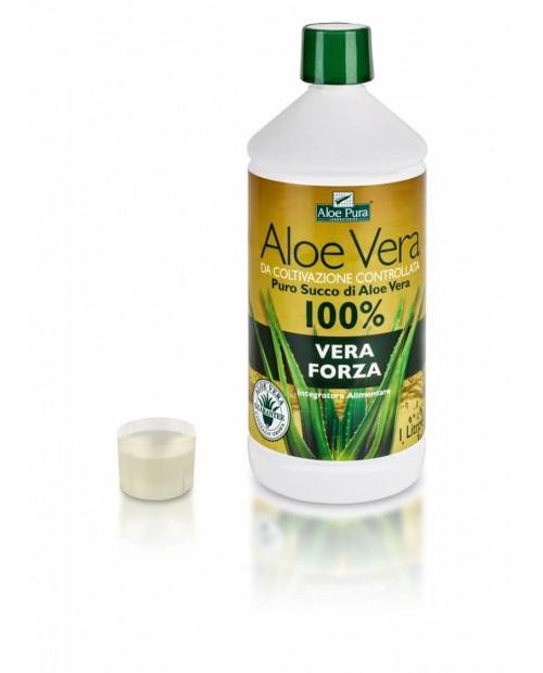 """Optima Naturals Aloe Vera Succo - """"Vera Forza"""" 1 Litro"""