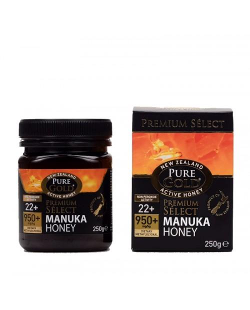 Optima Naturals Pure Gold Miele Manuka NPA 18+ mg0 650+ 250 grammi