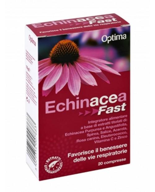 Optima Naturals Echinacea Fast 20 Compresse