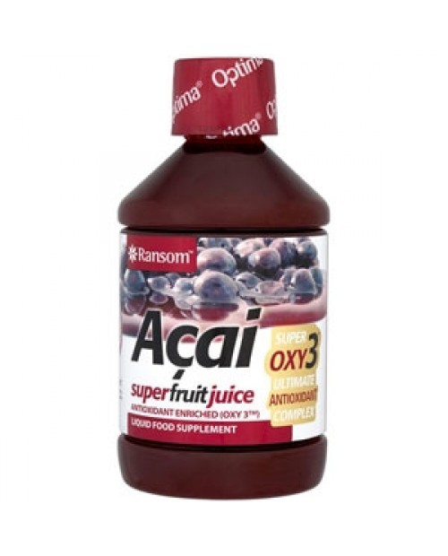 Optima Naturals Acai Succo con Oxy 3 500 ml