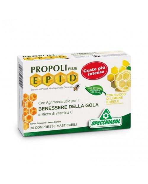 Specchiasol Epid® Compresse gusto Limone-Miele 20 Compresse