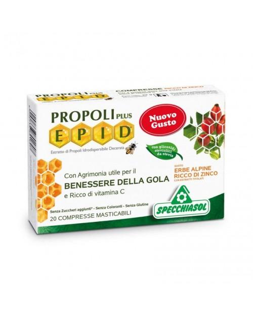 Specchiasol Epid® Compresse gusto Erbe Alpine con Zinco 20 Caramelle
