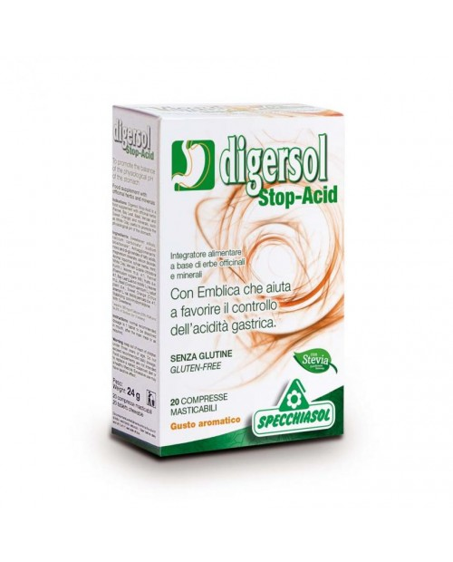 Specchiasol Digersol Stop-Acid 20 Compresse