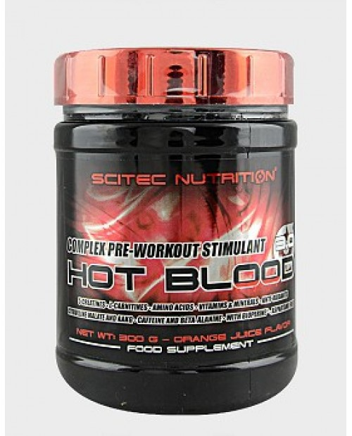 Scitec Nutrition Hot Blood 3.0 300 grammi
