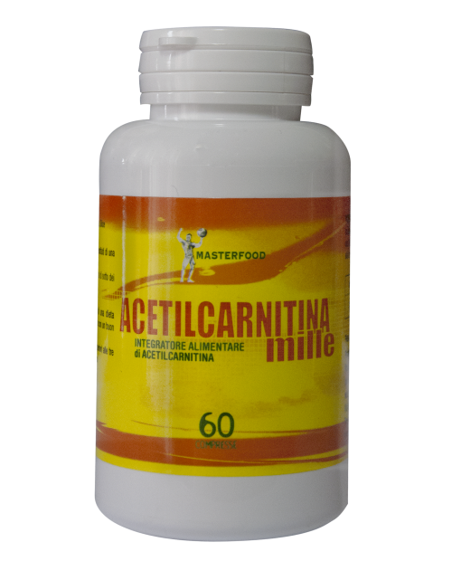 Masterfood Acetilcarnitina Mille 60 Compresse