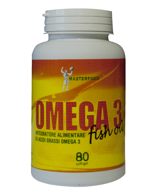 Masterfood Omega 3 Fish Oil 80 Softgel